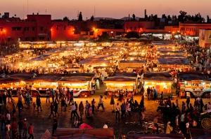 Jaama el Fna, Marrakech